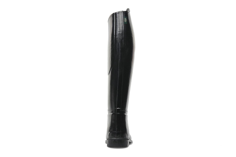 Zapatillas de deporte Le Chameau Alezan Toile Negro vista lateral derecha