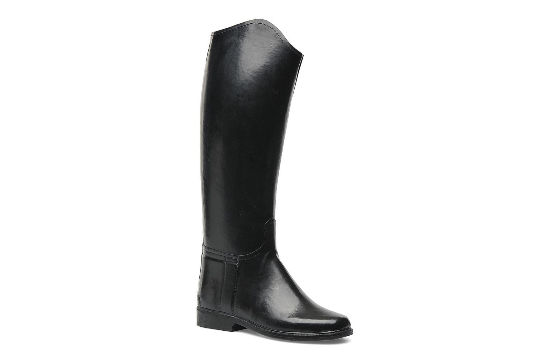 Chaussures de sport Le Chameau Alezan Toile Noir vue détail/paire
