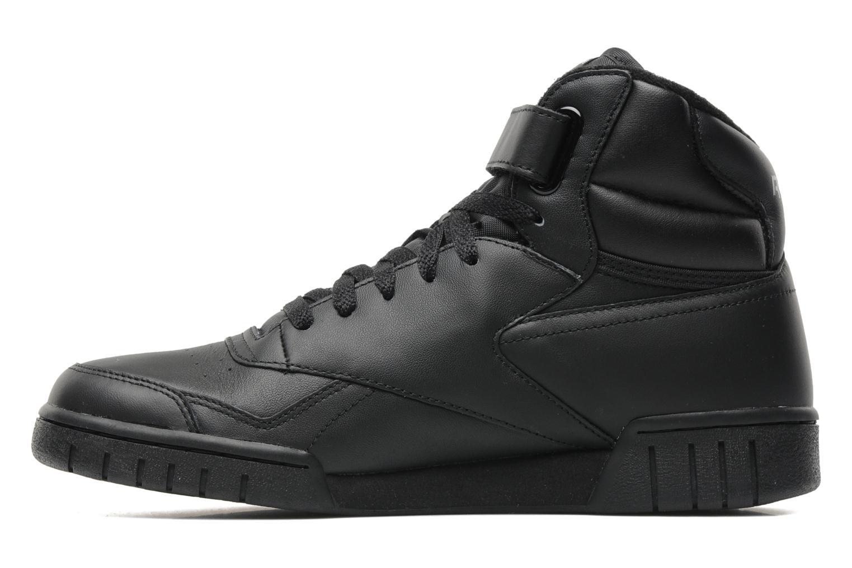 Sneakers Reebok Ex-O-Fit Hi Zwart voorkant