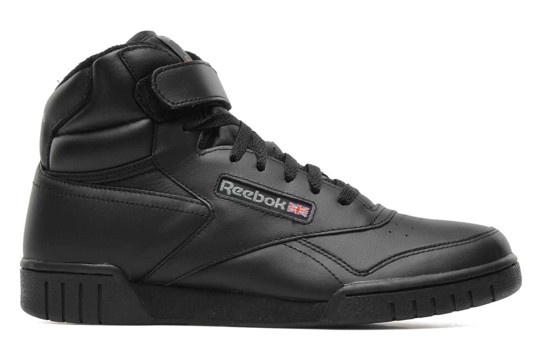 Sneakers Reebok Ex-O-Fit Hi Zwart achterkant