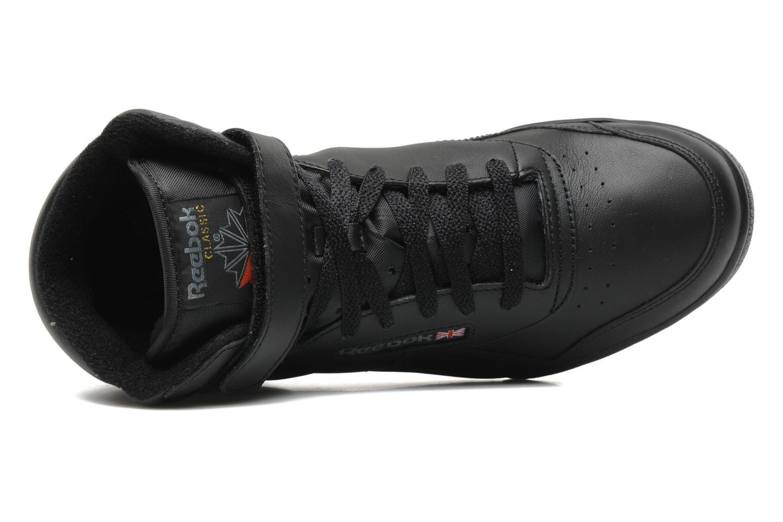 Sneakers Reebok Ex-O-Fit Hi Zwart links