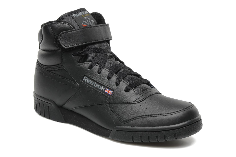 Sneakers Reebok Ex-O-Fit Hi Zwart detail