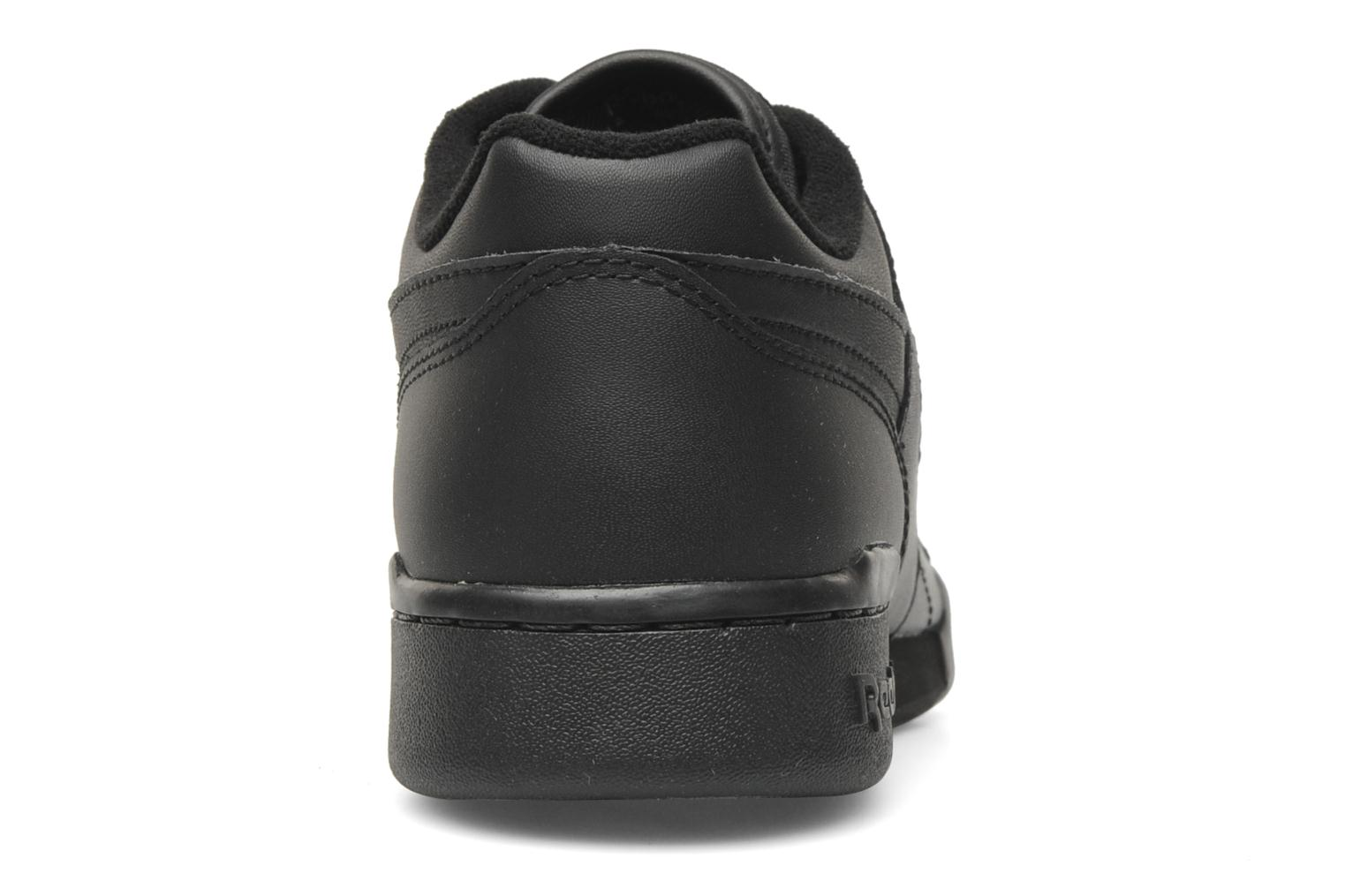 Trainers Reebok Workout Plus Black view from the right