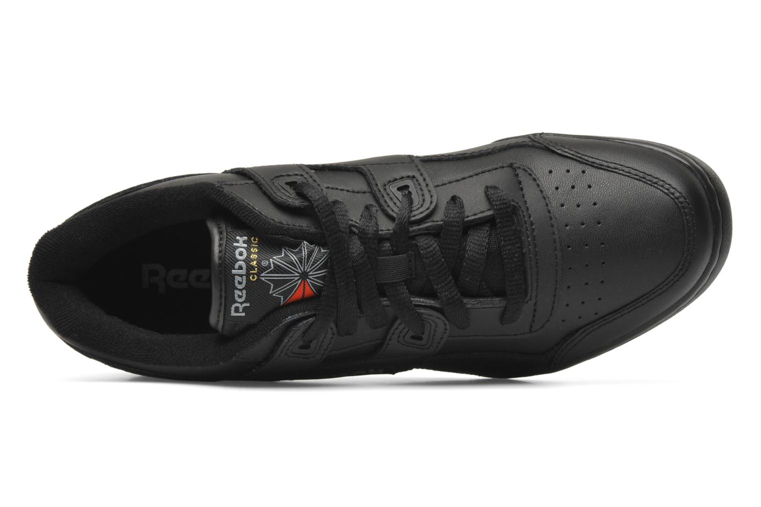 Trainers Reebok Workout Plus Black view from the left