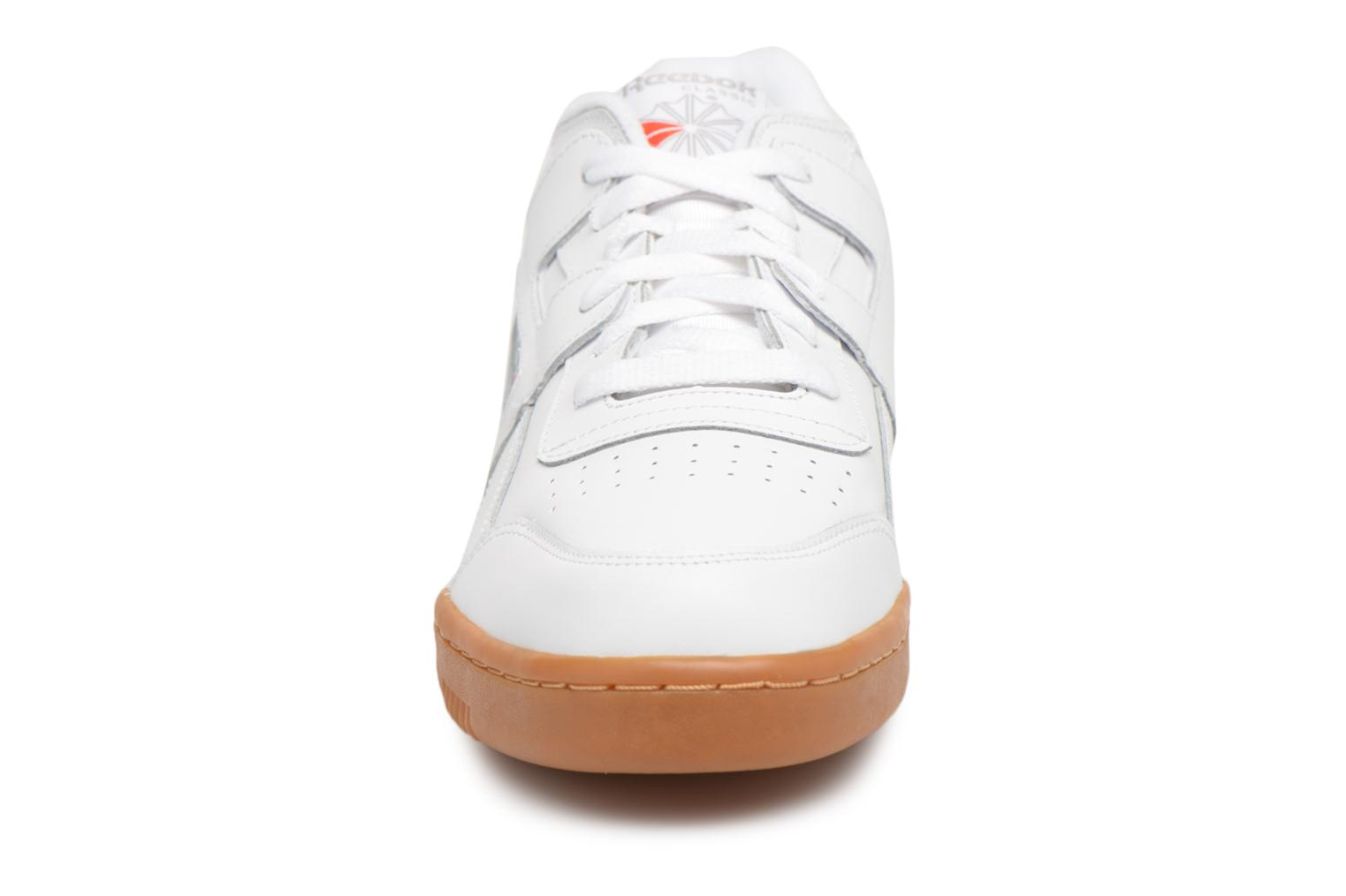 Trainers Reebok Workout Plus White model view