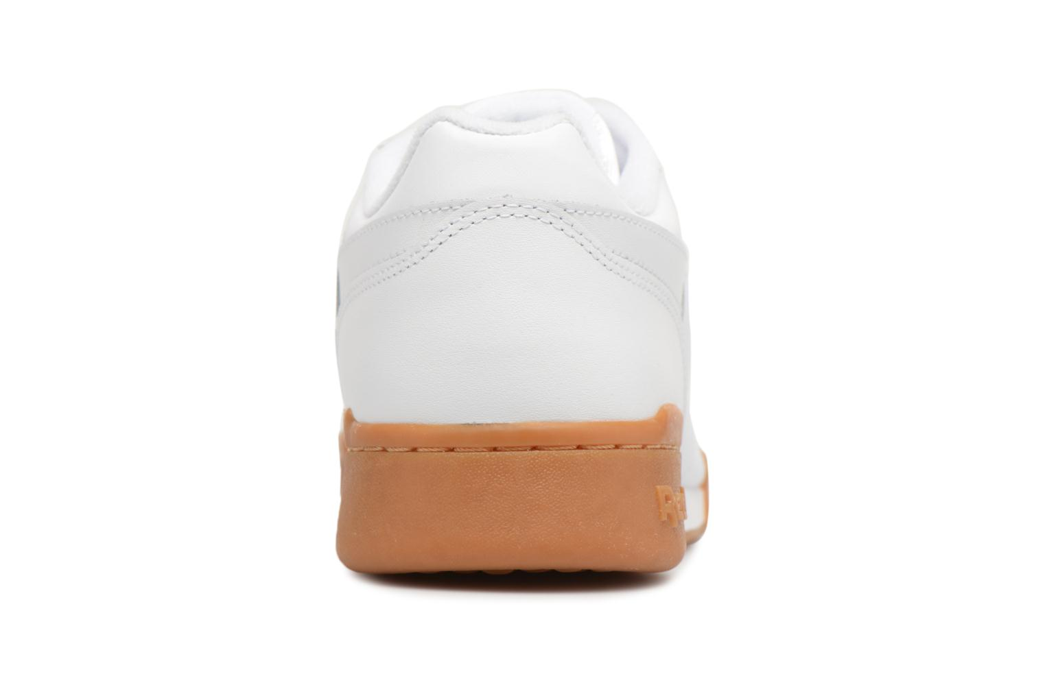 Trainers Reebok Workout Plus White view from the right