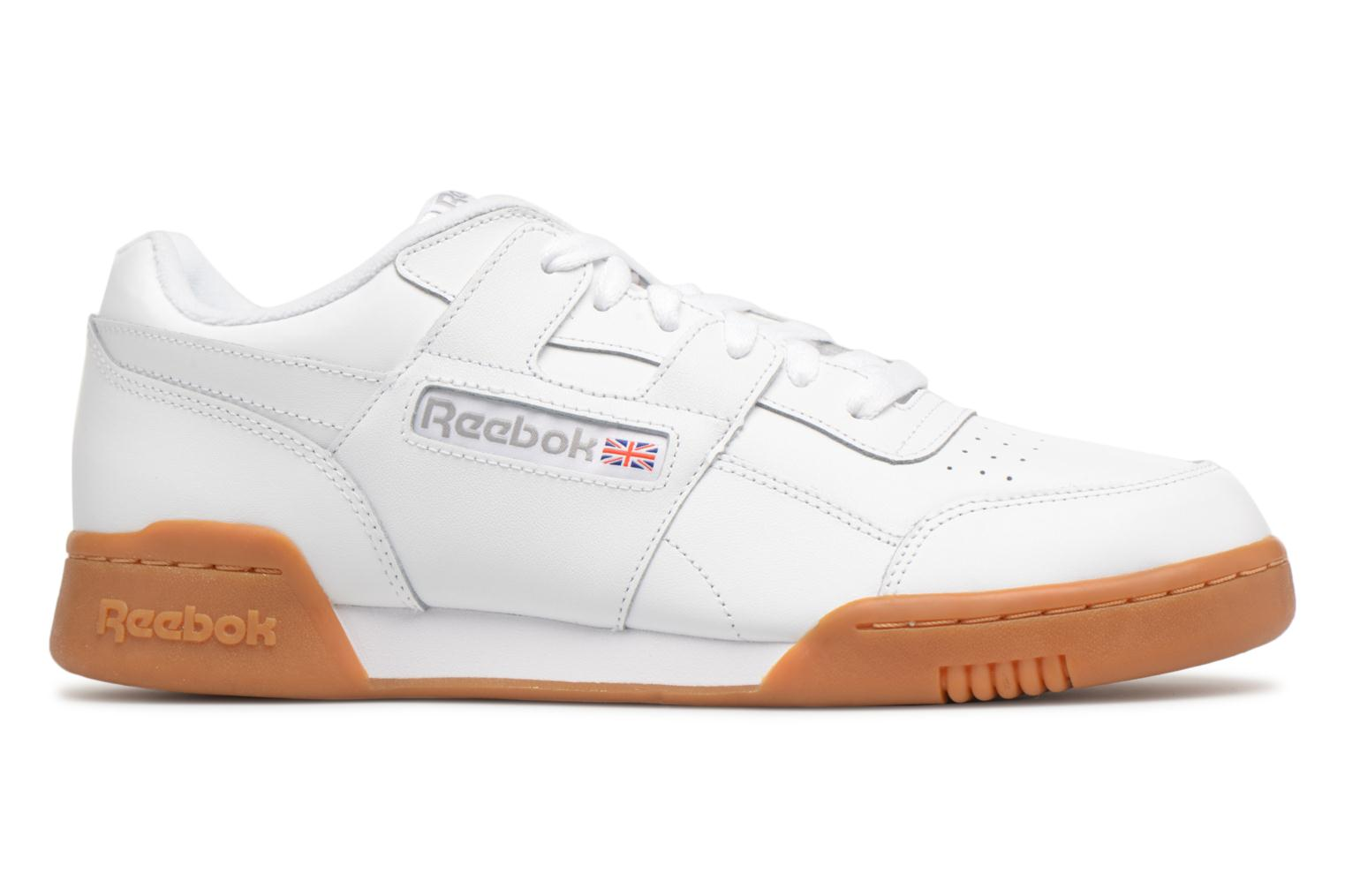 Trainers Reebok Workout Plus White back view