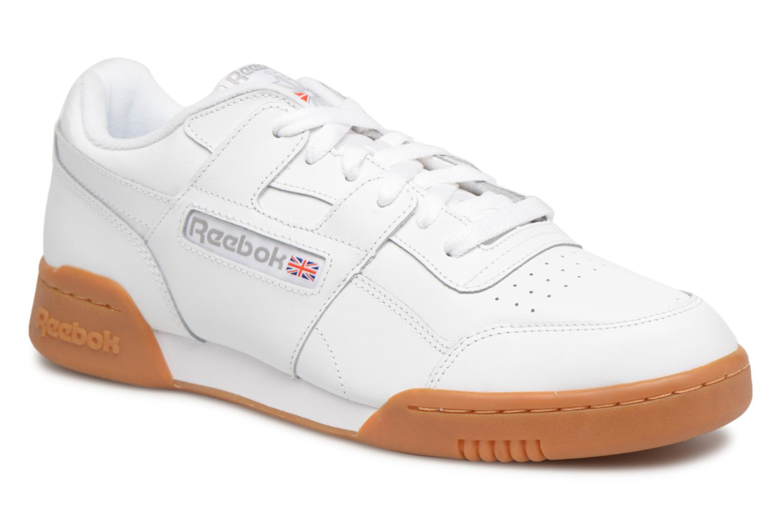 Trainers Reebok Workout Plus White detailed view/ Pair view