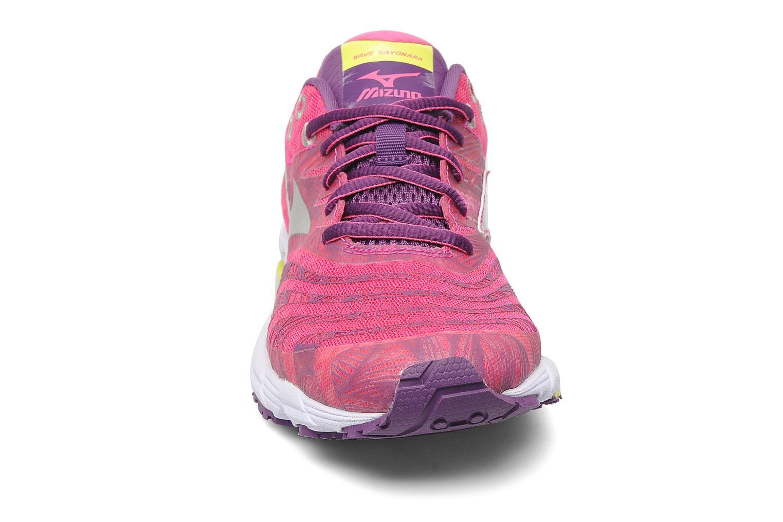 Sport shoes Mizuno Wave Sayonara Pink model view