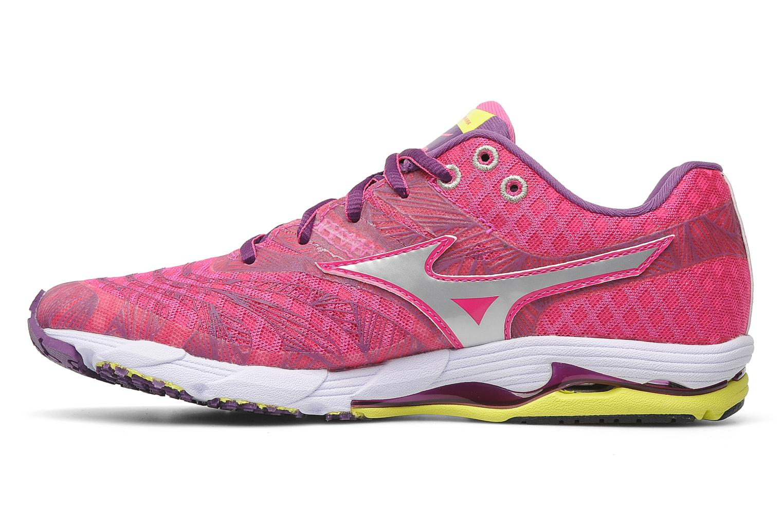 Sport shoes Mizuno Wave Sayonara Pink front view