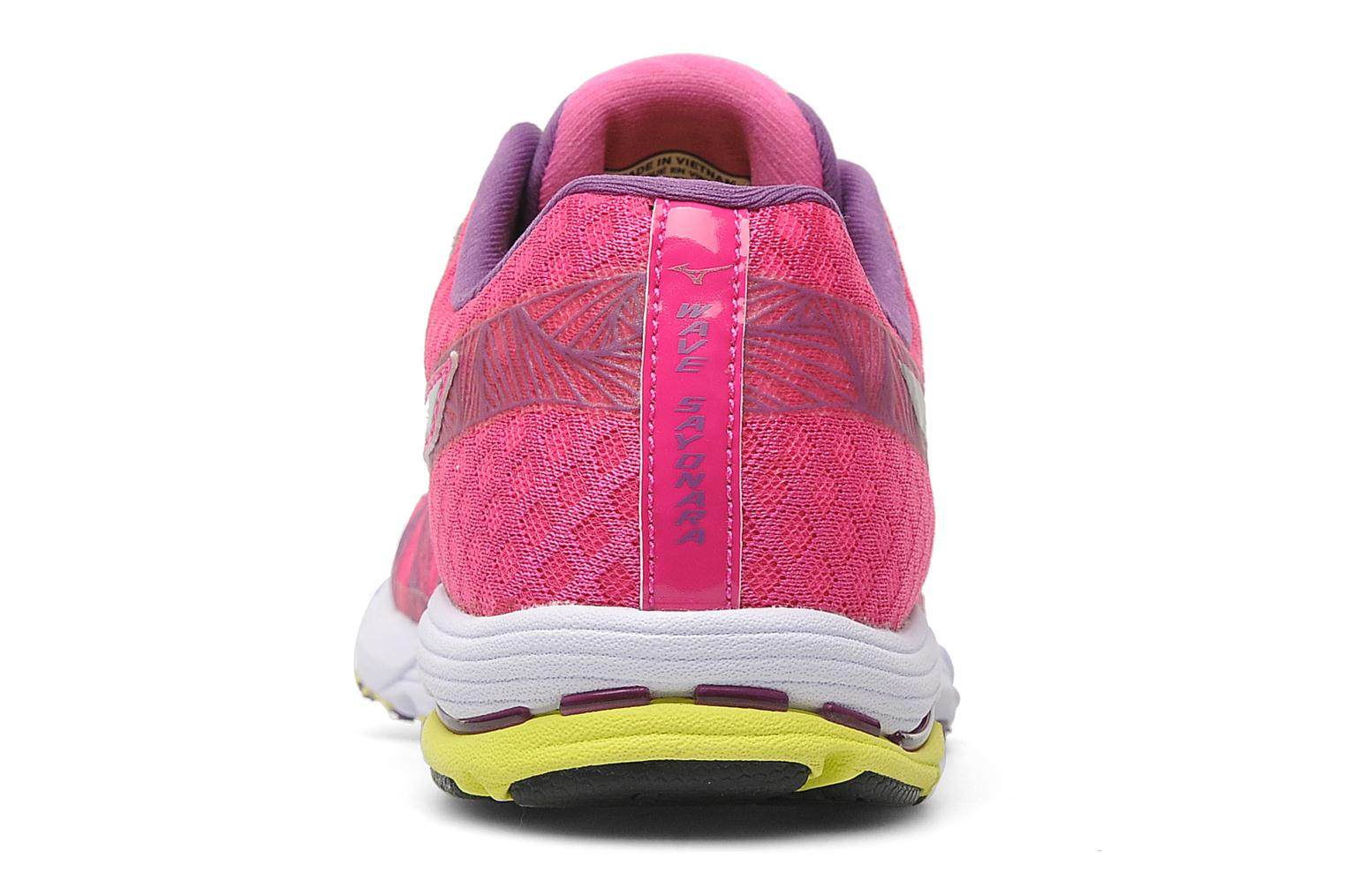 Sport shoes Mizuno Wave Sayonara Pink view from the right