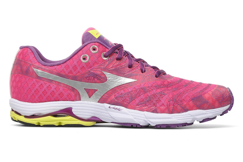 Sport shoes Mizuno Wave Sayonara Pink back view