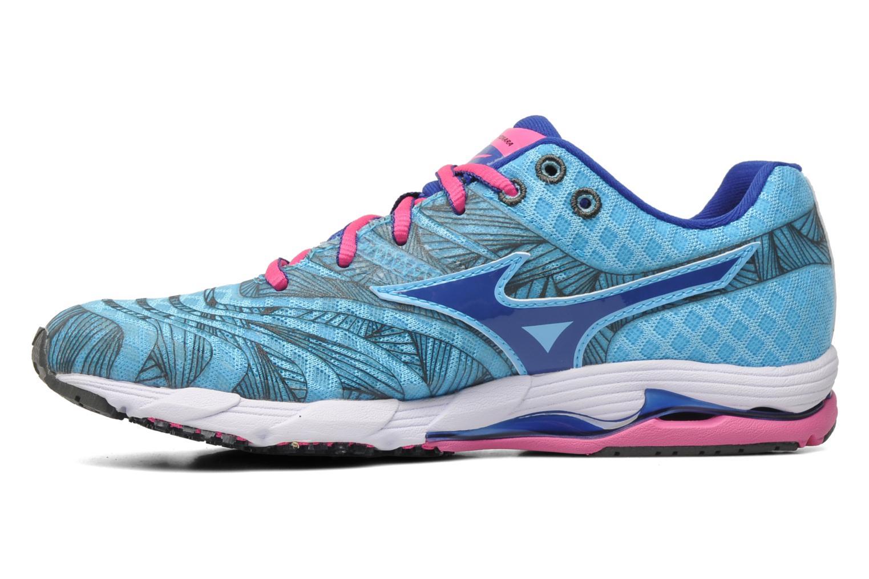 Sportschoenen Mizuno Wave Sayonara Blauw voorkant