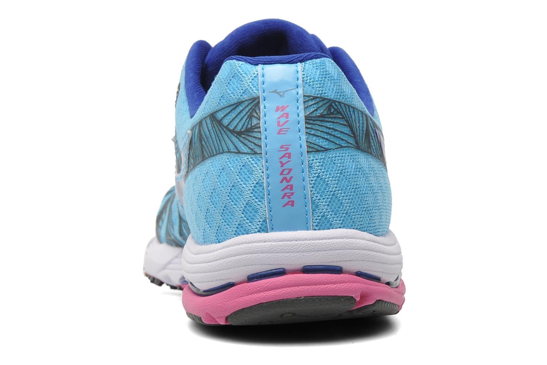 Sportschoenen Mizuno Wave Sayonara Blauw rechts