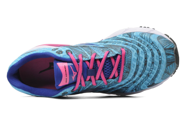 Sportschoenen Mizuno Wave Sayonara Blauw links