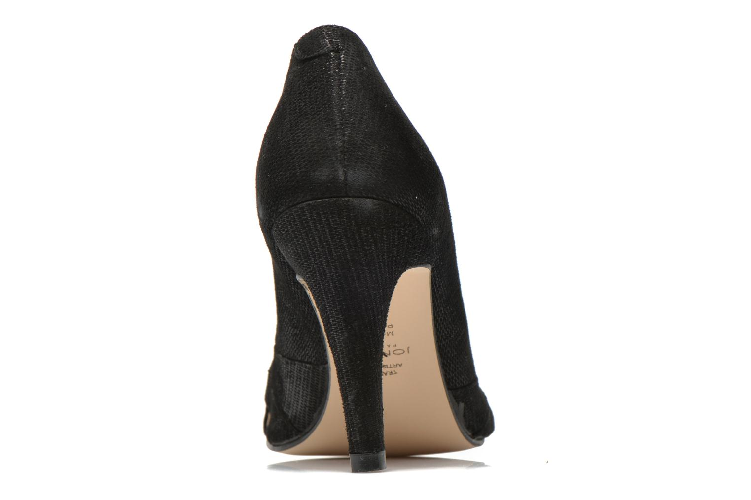 High heels Jonak Acide Black view from the right