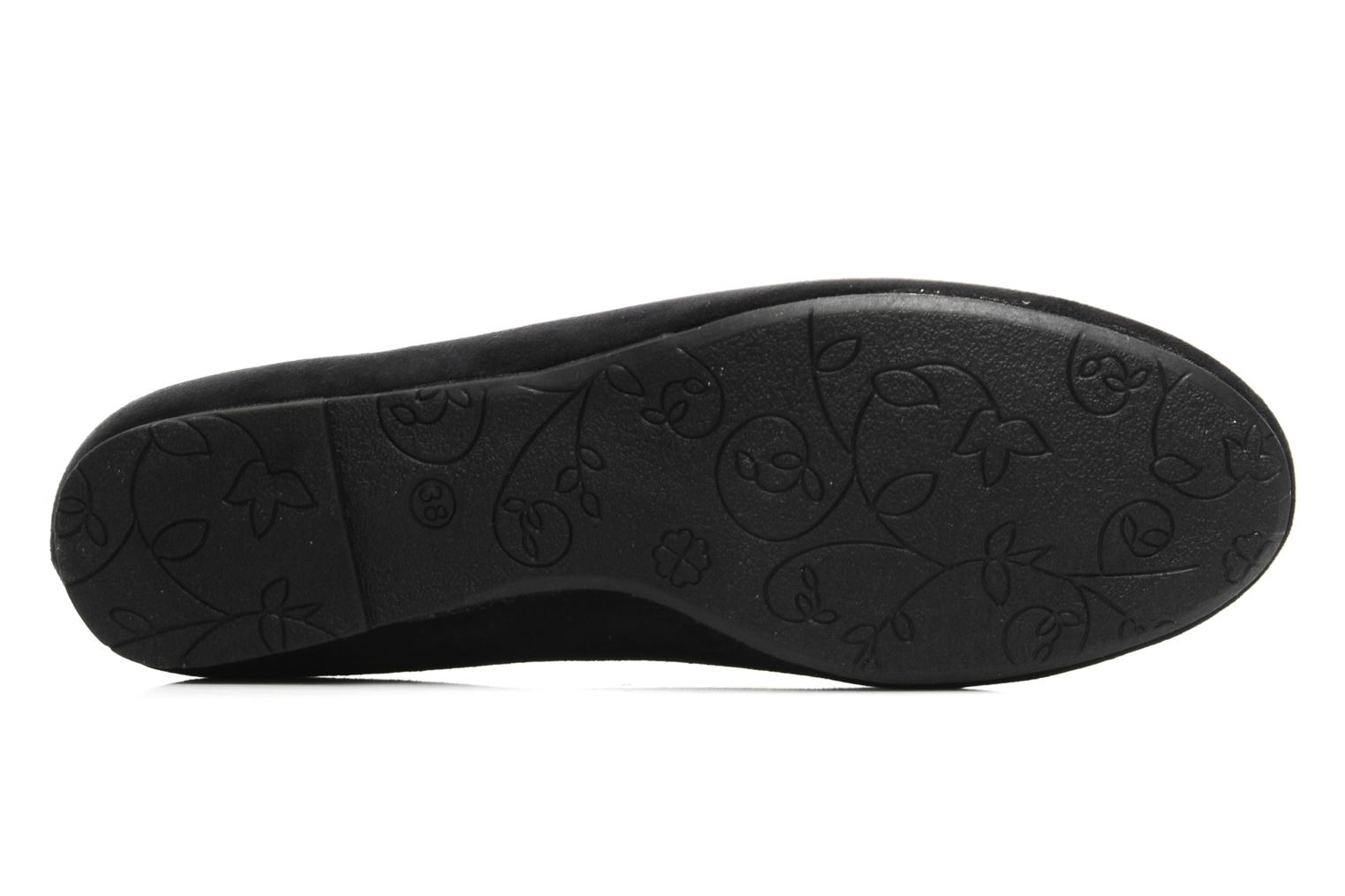Ballerines I Love Shoes Thapenade Noir vue haut