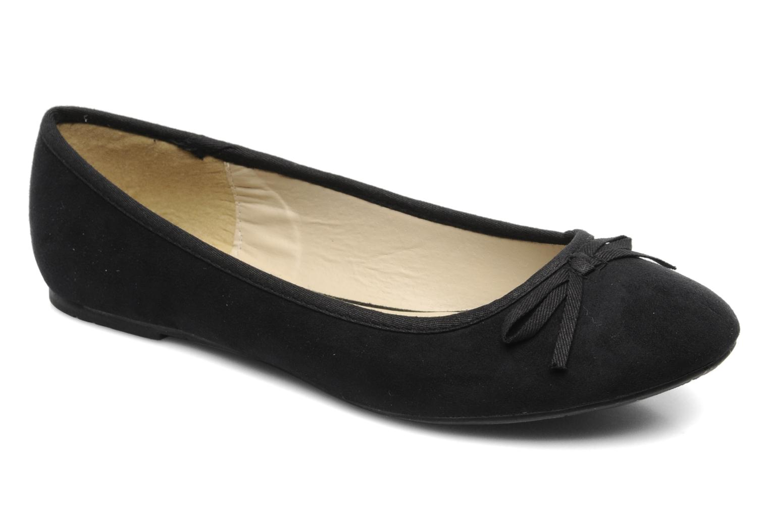 Ballerines I Love Shoes Thapenade Noir vue détail/paire