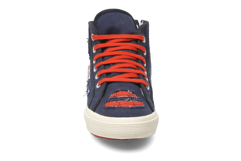 Sneaker Superga 2095 Spiderman 2 COBJ blau schuhe getragen