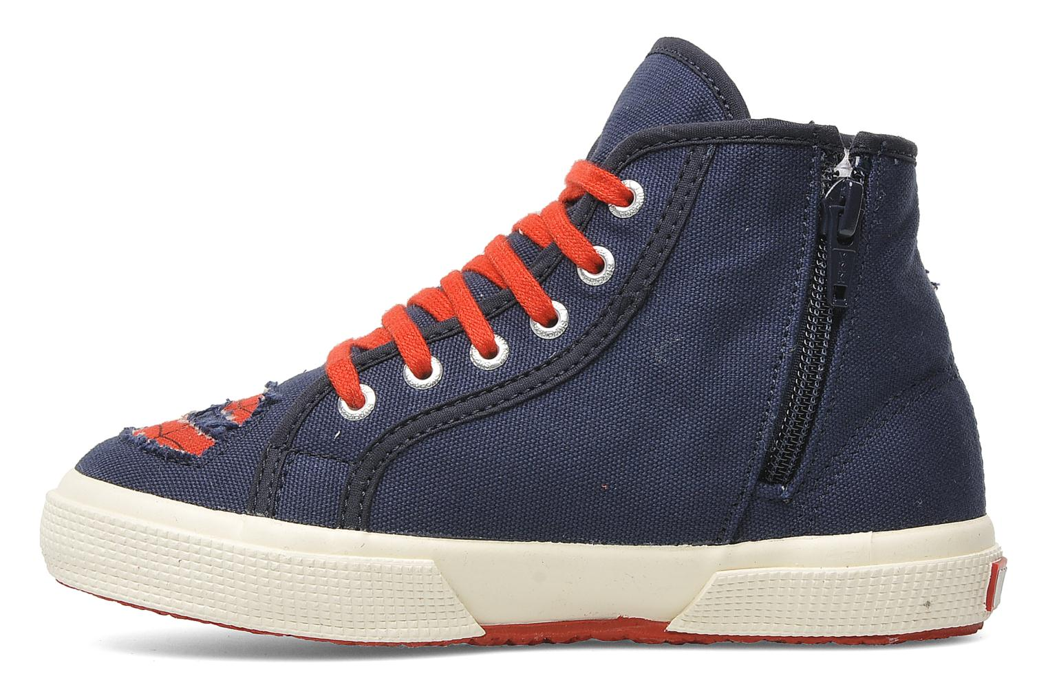 Baskets Superga 2095 Spiderman 2 COBJ Bleu vue face