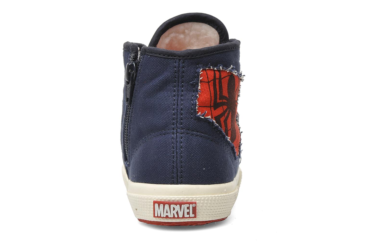 Baskets Superga 2095 Spiderman 2 COBJ Bleu vue droite