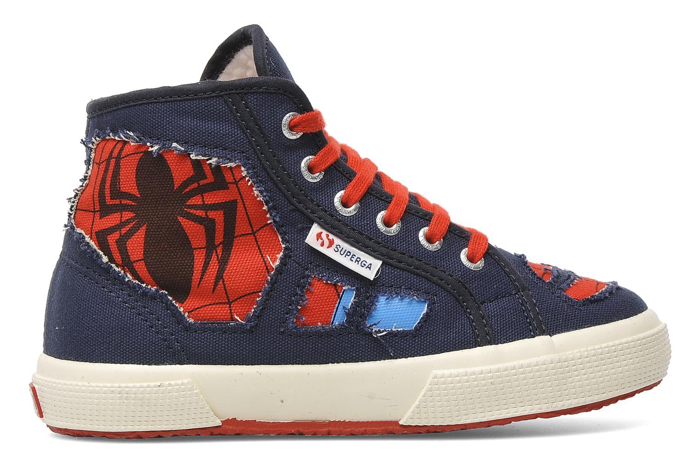 Sneakers Superga 2095 Spiderman 2 COBJ Blauw achterkant