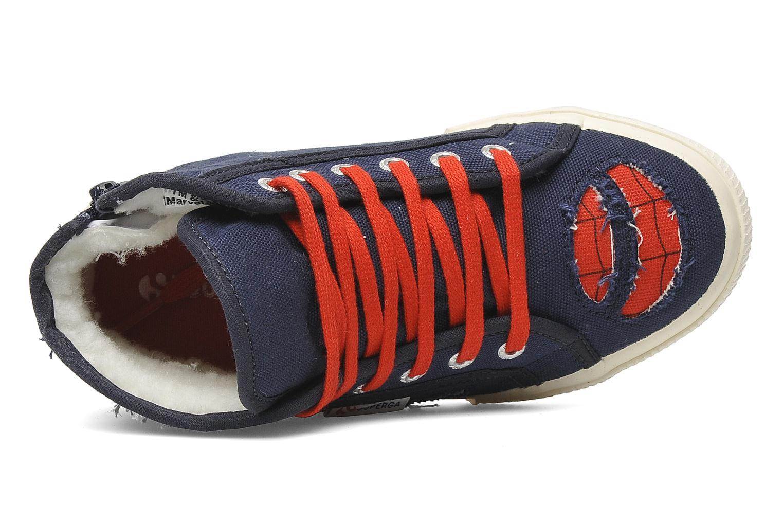 Sneakers Superga 2095 Spiderman 2 COBJ Blauw links