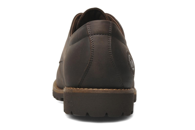 Chaussures à lacets Panama Jack Soho Marron vue droite
