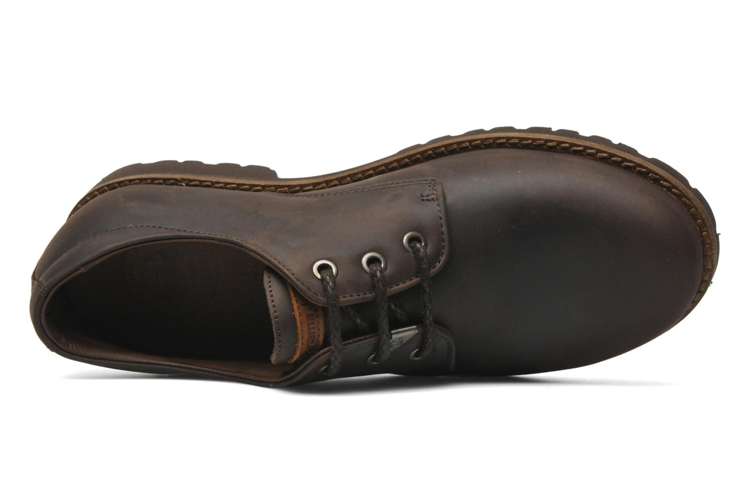 Veterschoenen Panama Jack Soho Bruin links