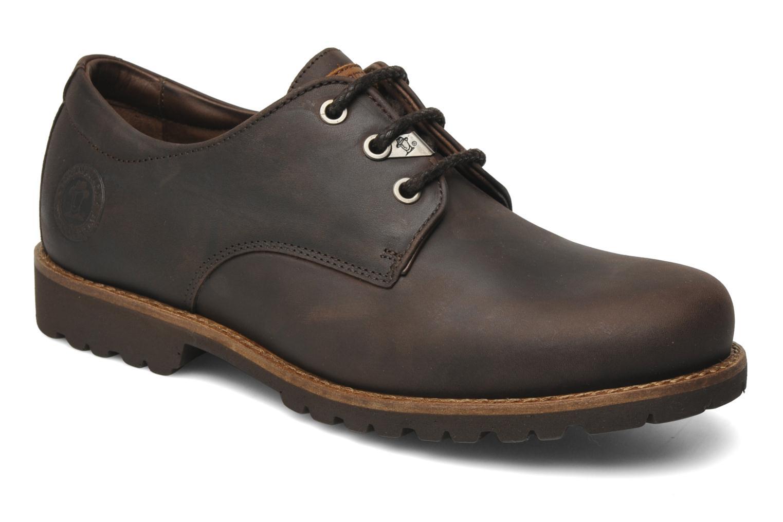 Chaussures à lacets Panama Jack Soho Marron vue détail/paire