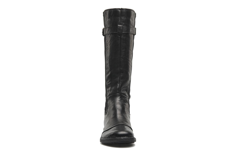 Bottes Khrio Bergame Noir vue portées chaussures