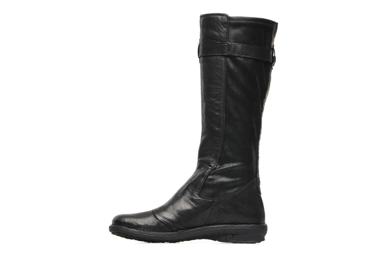 Stiefel Khrio Bergame schwarz ansicht von vorne