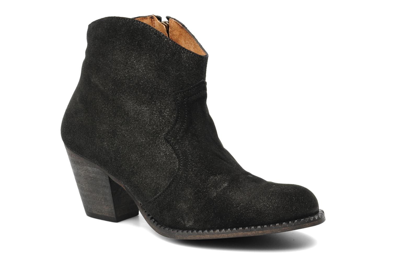 Boots en enkellaarsjes Eden Celil Zwart detail