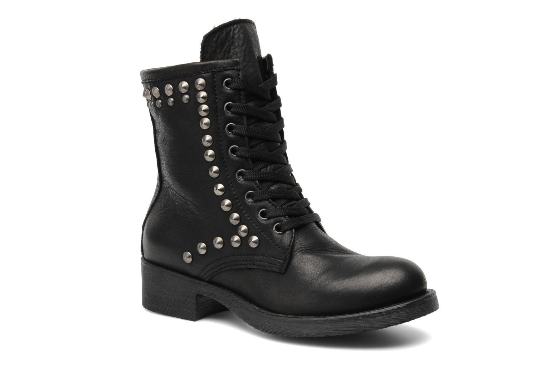 Boots en enkellaarsjes Eden Dilek Zwart detail