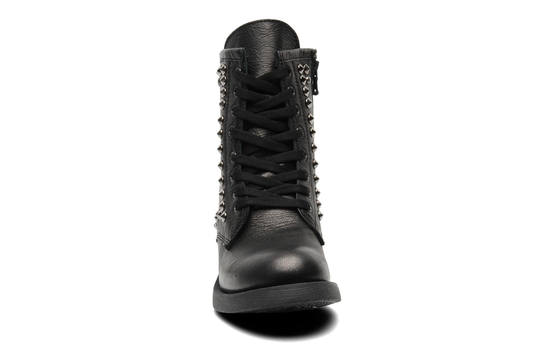 Bottines et boots Eden Dilek Gris vue portées chaussures