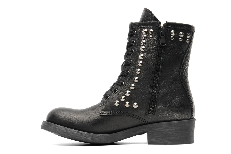 Bottines et boots Eden Dilek Gris vue face