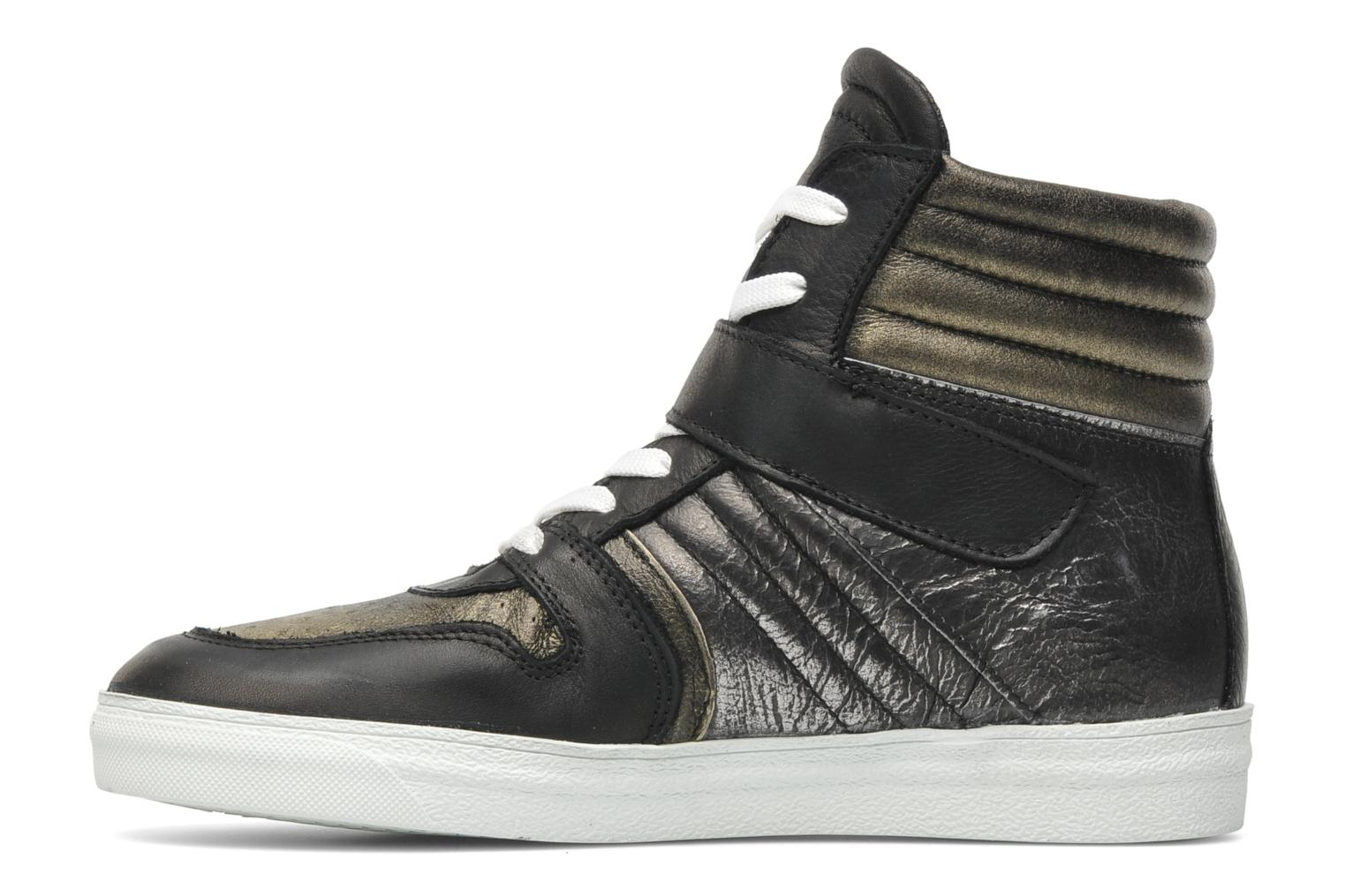 Trainers Eden Cafer Black front view