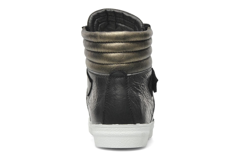 Baskets Eden Cafer Noir vue droite