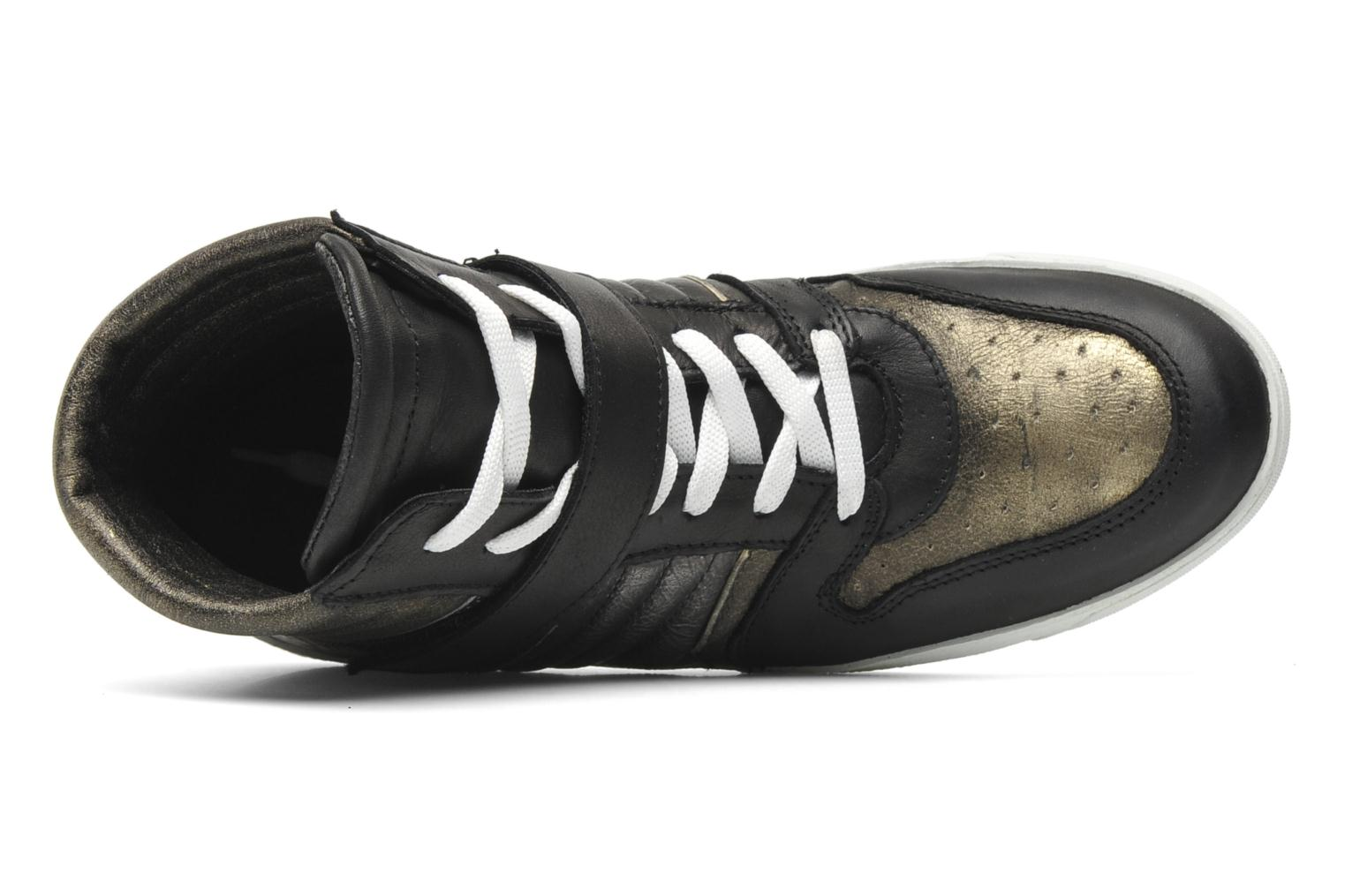 Trainers Eden Cafer Black view from the left