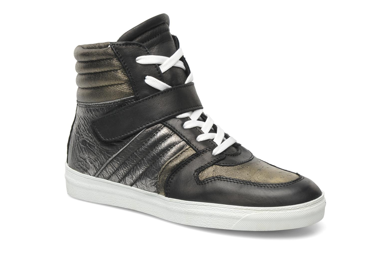 Trainers Eden Cafer Black detailed view/ Pair view