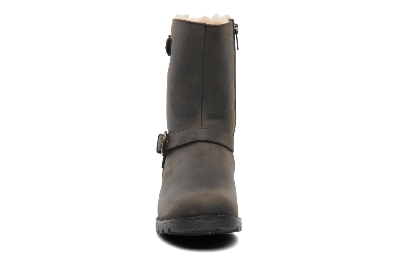 Stiefeletten & Boots UGG Grandle braun schuhe getragen