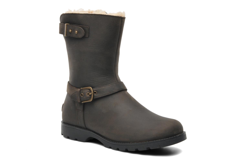Bottines et boots UGG Grandle Marron vue détail/paire
