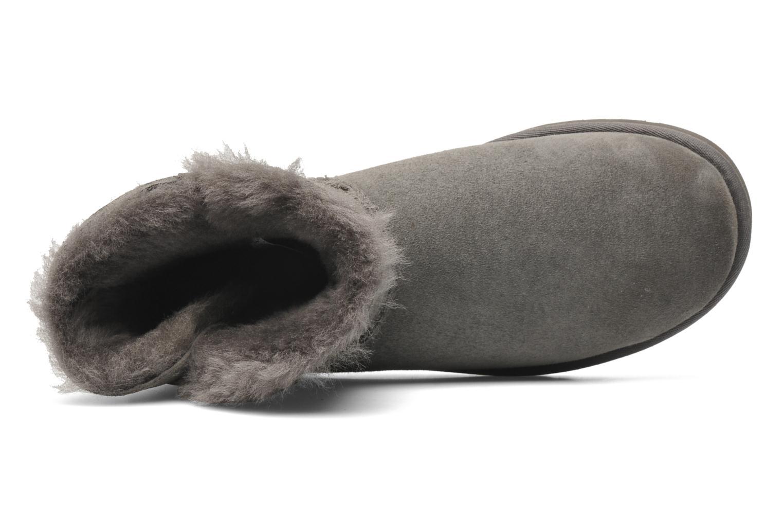 Bottines et boots UGG Mini Bailey Button Bling Gris vue gauche