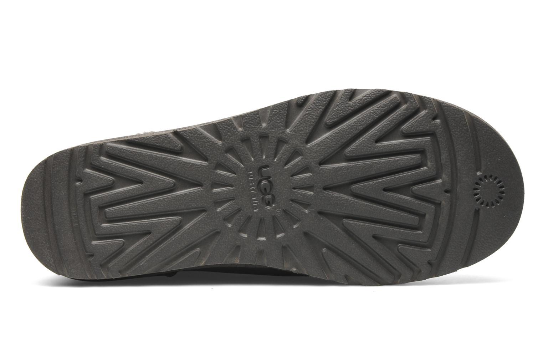 Bottines et boots UGG Mini Bailey Button Bling Gris vue haut