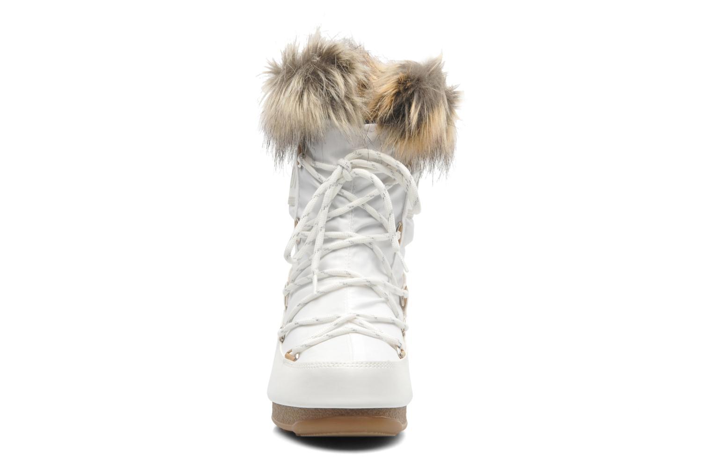 Bottines et boots Moon Boot Monaco Low Blanc vue portées chaussures