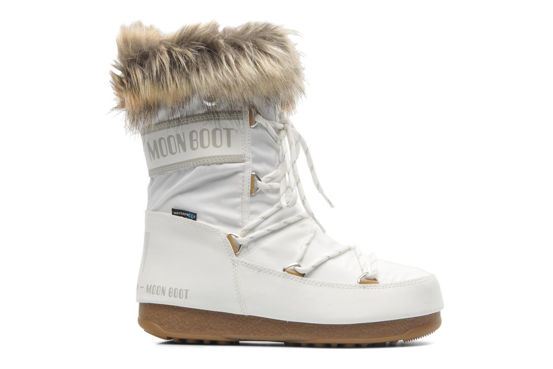 Bottines et boots Moon Boot Monaco Low Blanc vue derrière