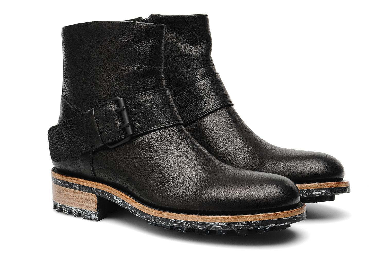 Boots en enkellaarsjes Jean-Baptiste Rautureau Hyrod Strap Boot Zwart 3/4'