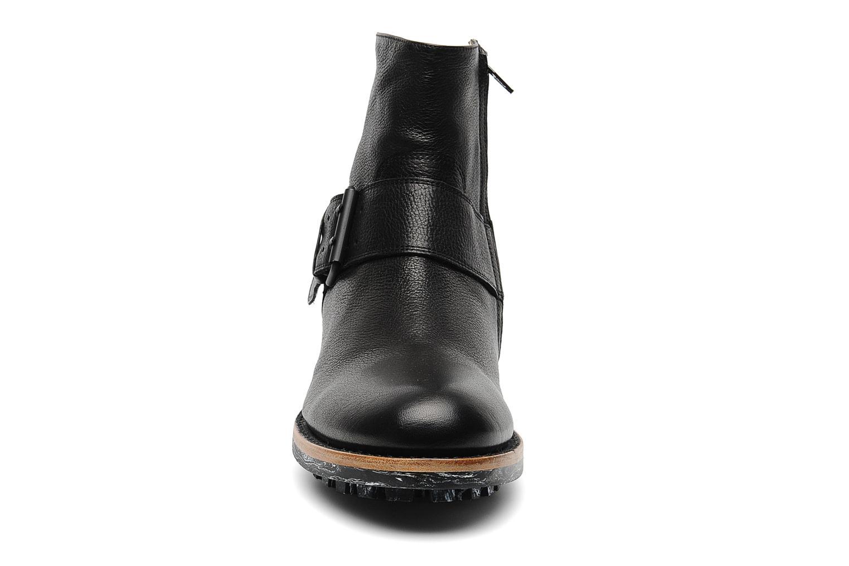 Stiefeletten & Boots Jean-Baptiste Rautureau Hyrod Strap Boot schwarz schuhe getragen