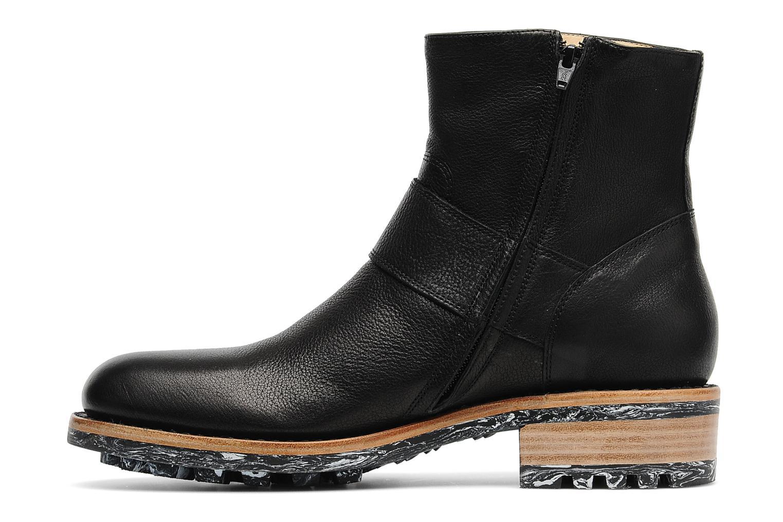 Boots en enkellaarsjes Jean-Baptiste Rautureau Hyrod Strap Boot Zwart voorkant