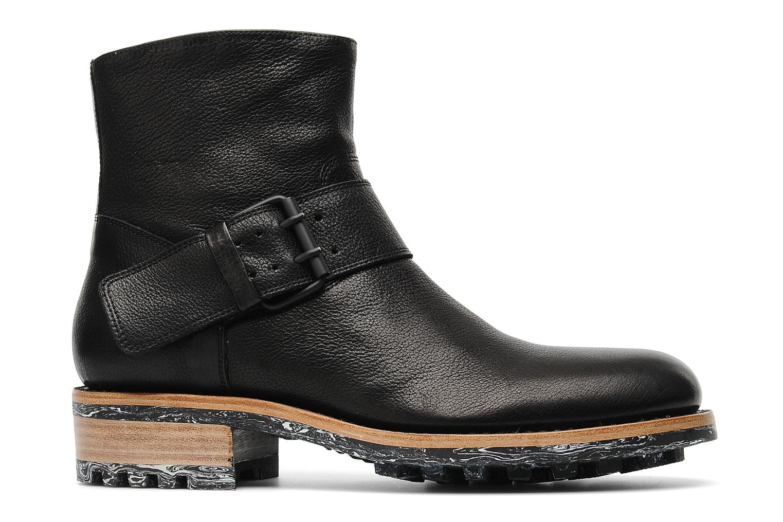 Boots en enkellaarsjes Jean-Baptiste Rautureau Hyrod Strap Boot Zwart achterkant